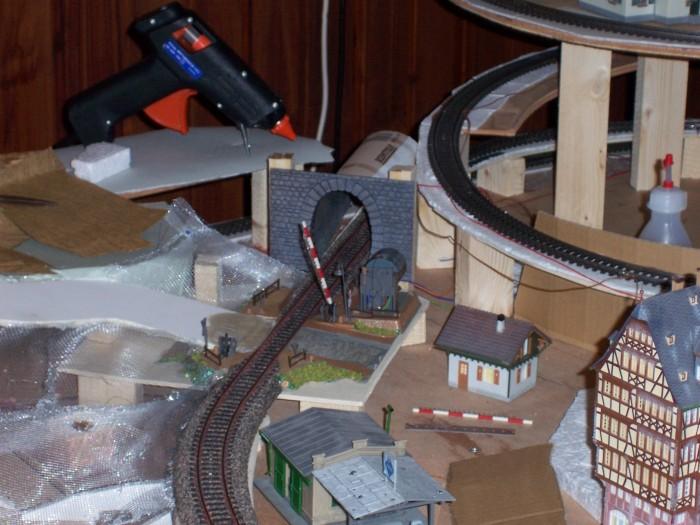 Bahnübergang Geländebau
